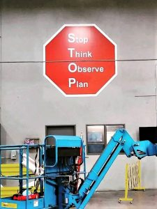 custom manufacturing safety signage