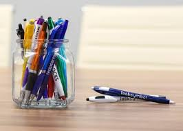 Promotional pens and givewaways